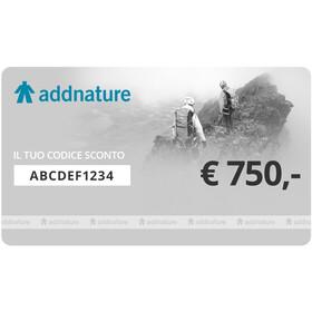 addnature Carta regalo 750 €